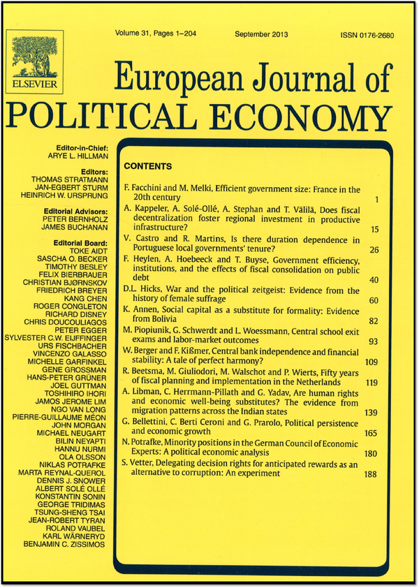 the effect of political economy on What is the effect of political institutions on economic performance assessing the role of political institutions in economic performance is not an easy task long-standing, deep-rooted political and social challenges have shaped each national institution and economy today.